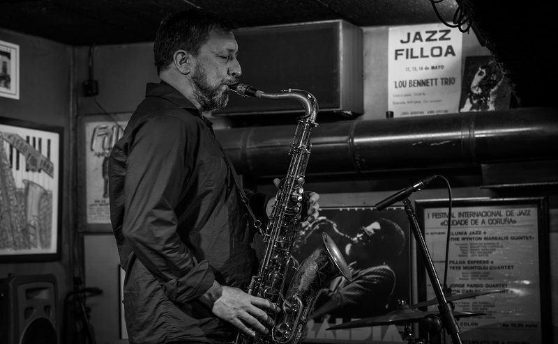 Crónica de Gorka Benítez Trio. A Coruña, Jazz Filloa. 2 de abril de 2015. Fotografía: Gimena Berenguer