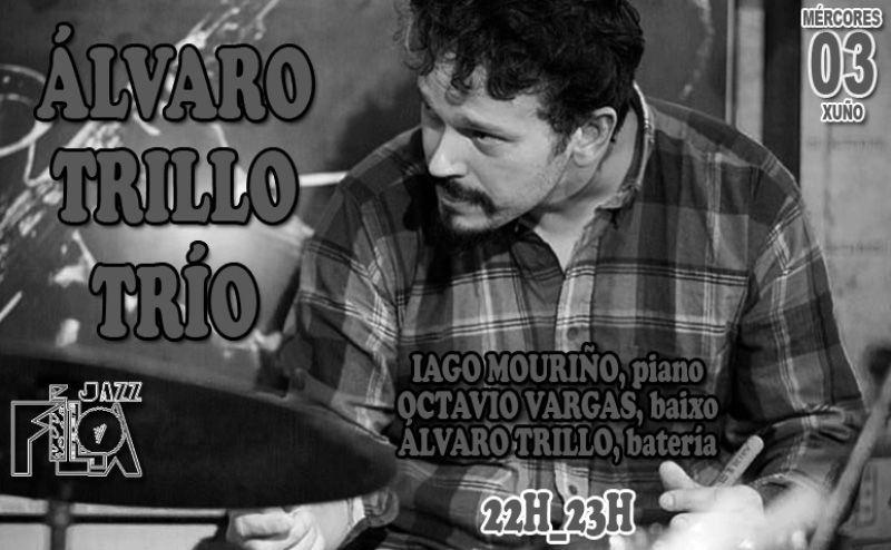 Álvaro Trillo Trío en Jazz Filloa de A Coruña el 3 de junio de 2015.
