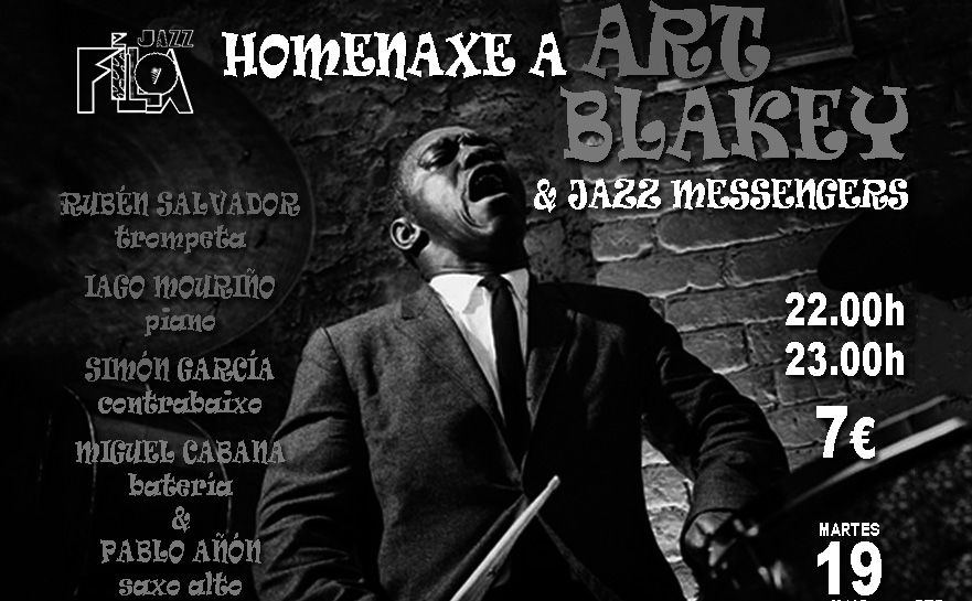 Homenaje a Art Blakey en Jazz Filloa
