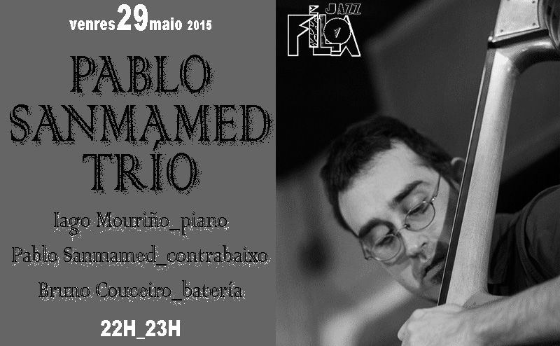Pablo Sanmamed Trio en Jazz Filloa