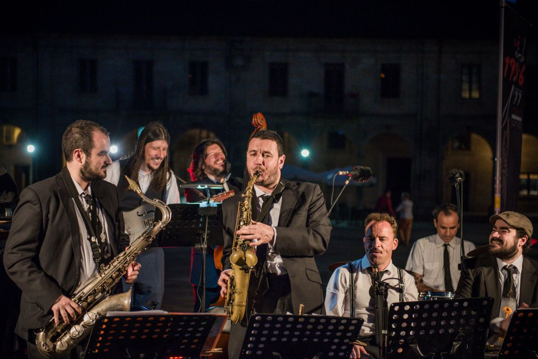 Maratón de Jazz. Plaza de la Quintana, Santiago de Compostela. 19 de junio de 2015. Fotografías: Gimena Berenguer