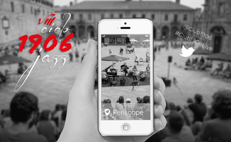 Club 1906 - Periscope maratón de jazz