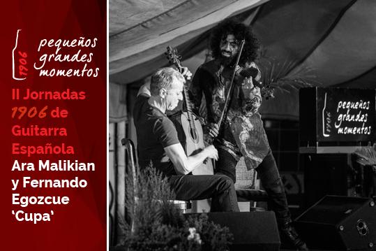 Ara Malikian en las II Jornadas 1906 de Guitarra Española