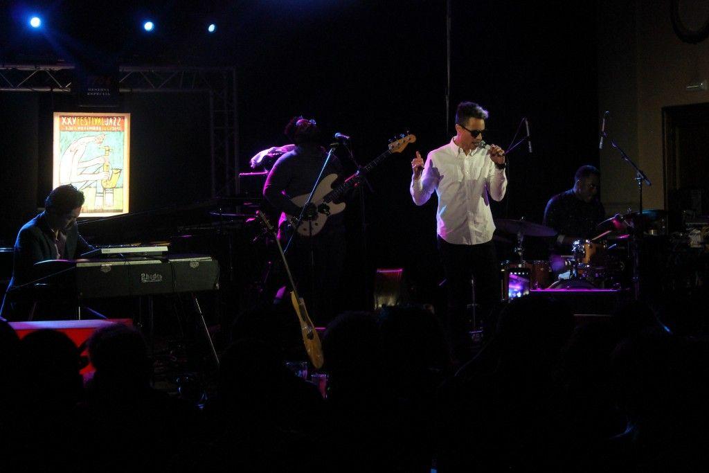 Crónica José James, Festival de Jazz de Lugo. 15 de noviembre de 2015