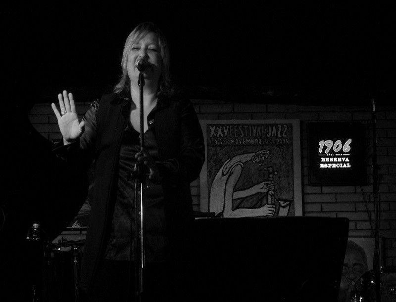 Crónica Patricia Kraus, Clavicémbalo. 27 de noviembre de 2015. Festival de Jazz de Lugo
