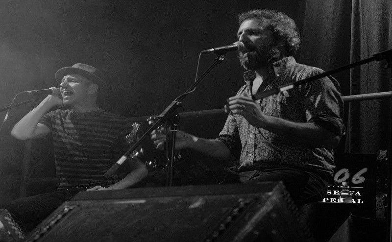 Concierto Alejo Stivel y Carlos Tarque en Auditorio do Mar de Vigo. 23 de diciembre de 2015