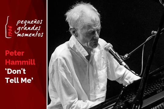 """Peter Hammill en el Teatro Lara: """"Don`t tell me"""""""