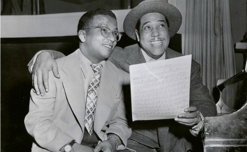 Billy Strayhorn y Duke Ellington