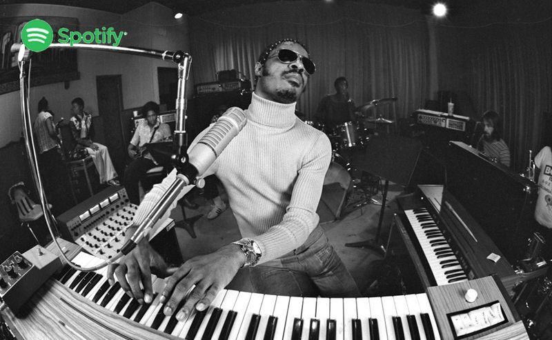 Stevie Wonder lista Spotify