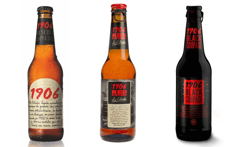 La gama 1906 triunfa un año más en los Premios internacionales Monde  Selection - Cervezas 1906