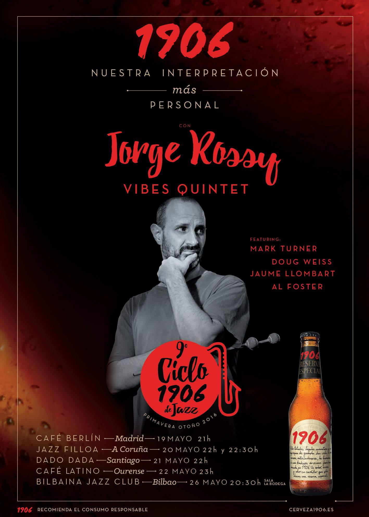 Cartel Jorge Rossy