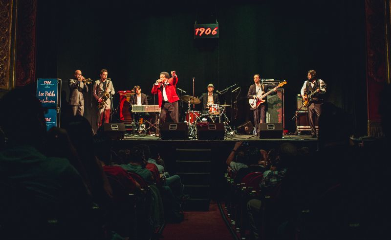 Concierto de Lee Fields