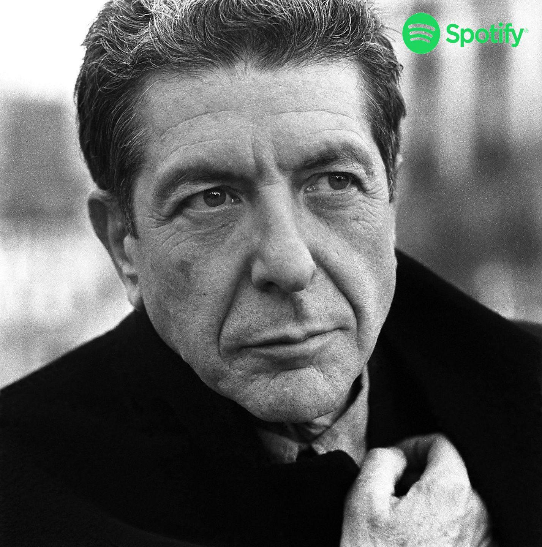 Leonard Cohen Spotify