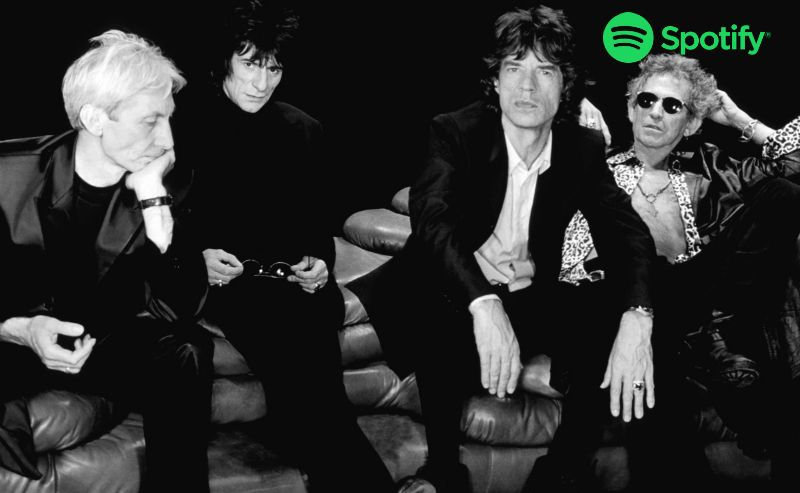 Rolling Stones lista Spotify