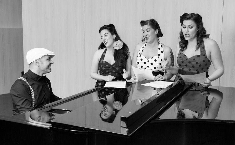 Concierto de Las Lollypops en el Blabla Café de Ferrol dentro del 10º Ciclo 1906 de Jazz