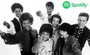 Sly Family Stone lista Spotify