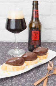 pan chocolate black coupage