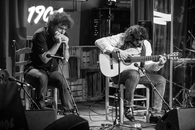 Josemi Carmona y Javier Colina en Café Berlín