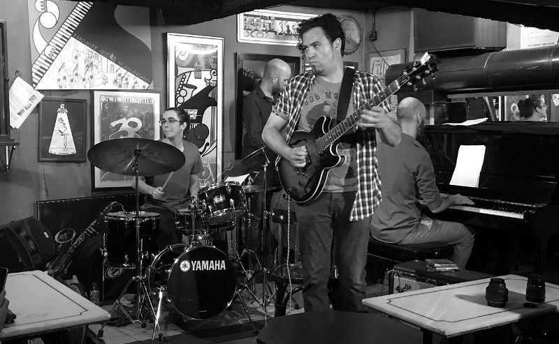 Toni Mora Quartet en el Jazz Filloa