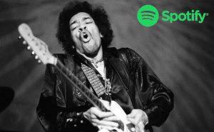 Jimi Hendrix Lista Spotify