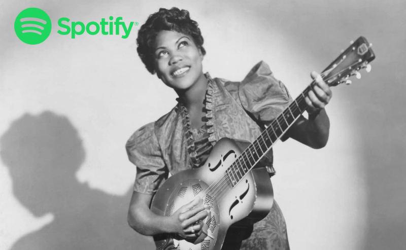 Sister Rosetta Tharpe lista Spotify