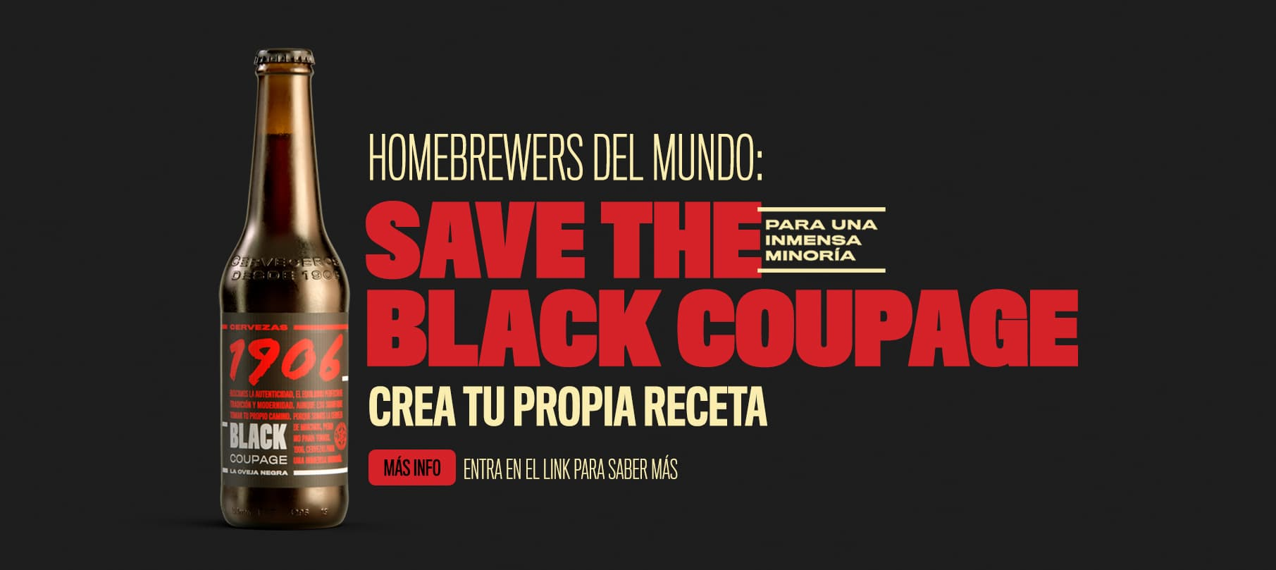 SAve the black coupage